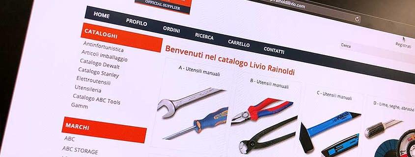 Sviluppo ecommerce B2B Livio Rainoldi