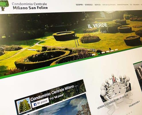 realizzazione sito milano san felice