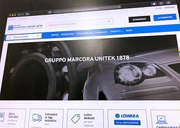 Sviluppo ecommerce B2B Marcora Unitek 1878