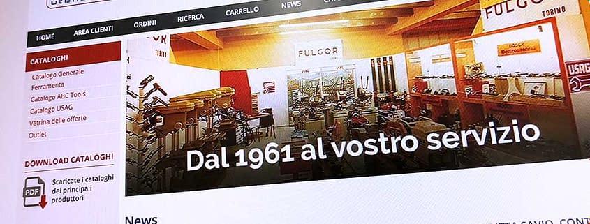 Sviluppo ecommerce B2B Fulgor