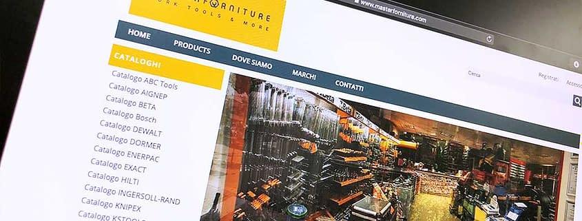 Sviluppo ecommerce B2B Master Forniture
