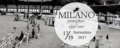 Safe riding winter show milano